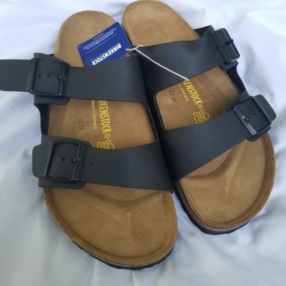 ce6097fb4034 Birkenstock Other - NEW Birkenstock Black Mens 10 Womens 12 AZ Sandals
